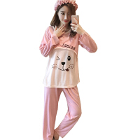 慈颜月子服秋季长袖孕妇睡衣产后哺乳衣时尚外出家居服喂奶套装FJC898