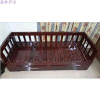 实木沙发床可折叠小户型1.2推拉坐卧双人书房客厅沙发床1.5米1.8 1.8米-2米