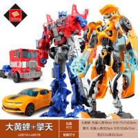 大黄蜂汽车机器人模型手动变身变形儿童礼物男孩4变形5金刚玩具