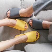 拖鞋夏天情侣凉拖鞋女室内浴室防滑洗澡鞋家用家居鞋