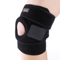 跑步健身羽毛球运动护膝登山护膝 篮球双弹簧支撑专业护具 男女健身护具