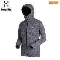 Haglofs火柴棍男款户外运动秋冬舒适耐用抓绒帽衫603379 亚版