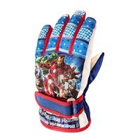 3-12岁儿童滑雪手套复仇者联盟加厚防寒防水保暖手套男女童款手套SN8937