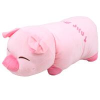 创意儿童生日礼物女孩 睡觉抱枕公仔可爱小猪猪布娃娃玩偶毛绒玩具