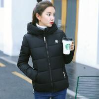 羽绒服 新品女羽绒女短款2018冬装新款韩版修身加厚小棉袄连帽学生棉衣外套