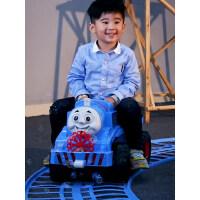 儿童电动车小火车轨道汽车男女孩玩具四轮可坐人吹泡泡机1-3-6