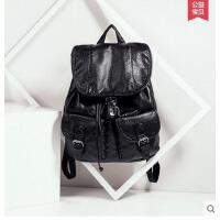 双肩包女韩版学院风 时尚休闲女包书包包新款女背包双肩韩可礼品卡支付