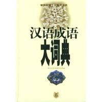 汉语成语大词典---汉语工具书 朱祖延;湖北大学古籍研究所 9787101031171