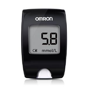 [当当自营]欧姆龙(OMRON)电子血糖仪套装 HGM-112(25)25条试纸 套装