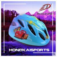 户外 儿童自行车头盔轮滑滑板户外运动保护可调头盔溜冰鞋旱冰鞋头盔