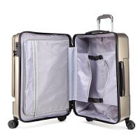 商务拉杆箱万向轮旅行箱出差行李箱电脑男女20寸登机箱24寸 24寸 前置电脑袋