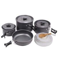 户外野餐用品野炊套锅露营野营野外聚餐煮食装备炊具 2-3 4-5人 4-5人 1692套锅