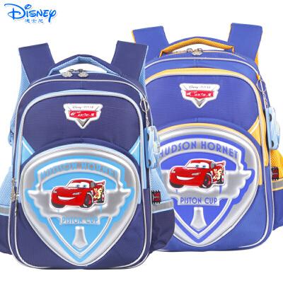 迪士尼麦昆汽车男童小学生1-3年级卡通双肩减负护脊书包RB0088