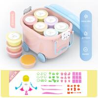 超轻粘土24色儿童手工diy安全无毒制作黏土套装太空橡皮彩泥玩具