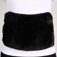 护腰带冬季保暖女士腰间盘暖宫护胃护肚子护腹腰围仿羊绒加绒加厚
