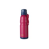 【当当自营】杯具熊(BEDDYBEAR) 男女保温保冷户外旅行不锈钢水壶 运动健身杯子580ml 玫红运动水杯