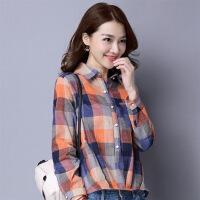 POLO领衬衫棉宽松休闲时尚韩版百搭气质街头显瘦修身2018年春季 图片色