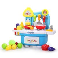 儿童过家家厨房玩具过家家厨房宝宝厨具餐具套装女孩做饭煮饭