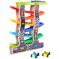 滑翔车1-2-3周岁宝宝轨道车男孩惯性回力小汽车儿童益智力玩具车 C款
