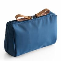 创意化妆包简约淑女迷你洗漱包防水小号便携手拿随身旅行收纳包袋