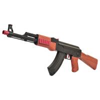 可发射狙击抢水晶冲锋儿童玩具枪手动ak47水弹枪下供弹仿真cs