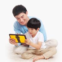 小天才儿童平板学习机 K1 咖啡/黄 护眼抗摔早教机小学同步家教机点读机儿童故事机游戏机 敏感辅助工具
