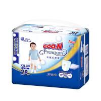 GOO.N大王 短裤式纸尿裤 天使系列 XXL28片