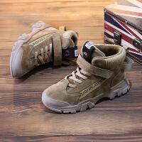 男童马丁靴英伦风雪地儿童鞋男孩二棉鞋靴子