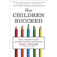 性格的力量 英文原版 Paul Tough: How Children Succeed: Grit, Curiosity, and the Hidden Power of Character