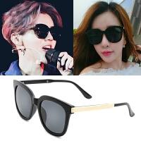 墨镜女潮明星款眼镜新款圆形个性太阳镜女士圆脸韩国男士网红