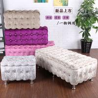 实木收纳凳储物凳店铺长形换鞋沙发凳布艺储物凳床尾凳储物沙发凳