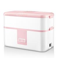 加热保温饭盒单双层陶瓷内胆便携式蒸饭菜上班宿舍