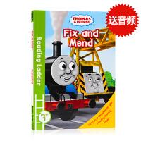 (88选5)托马斯和朋友们Thomas and Friends Fix and Mend英文原版分级阅读入门级Readi