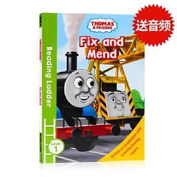 托马斯和朋友们Thomas and Friends Fix and Mend英文原版分级阅读入门级Reading Ladder Level 1英语故事图画书 儿童绘本3-5岁 儿童绘本3-5岁