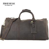 男士旅行包旅游男士行李袋手提短途潮流旅行袋出差旅行包大容量商务电脑旅行包男包 大