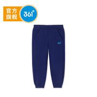 【到手价:48.7】361度 男童针织长裤 春季K51814554