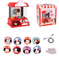男孩女孩早教过家家玩具套盒收银机甜品屋迷你厨房购物车系列儿童玩具礼物 FDE510 抓娃娃机