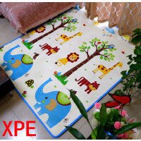 婴儿童宝宝爬行垫xpe爬爬垫加厚2cm泡沫地垫客厅游戏毯
