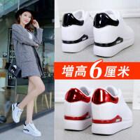 新款平底百搭韩版女鞋运动休闲鞋潮鞋内增高小白鞋女