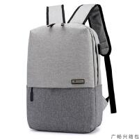 背包双肩包男韩版时尚潮流大容量旅行包休闲13.3寸电脑包初中学生书包男