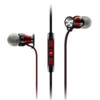 森海塞尔(Sennheiser)Momentum in-Ear G / in-Ear I  木馒头入耳式耳机(安卓/苹果)Black 黑色
