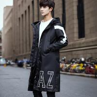 秋冬季新款中长款风衣男士韩版修身帅气披风斗篷潮牌学生外套