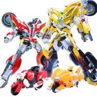 恐龙救援金刚机器人雄狮飞鹰元气拯救队星魂勇者变形玩具套装