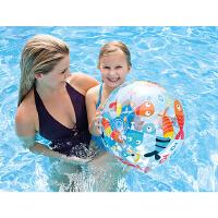 充气沙滩球儿童戏水玩具球水上泳池水球手球