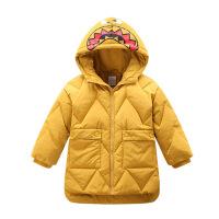 儿童加厚保暖羽绒服 韩版童装冬装新款男童防风幼童长款