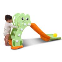 滑梯儿童室内家用组合加厚宝宝滑滑梯户外小孩玩具幼儿园加长小型 +框+底