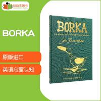 【99选5】英国进口 1964年格林纳威金奖 Borka 宝儿:一只没有羽毛的大雁 50周年纪念版【精装】