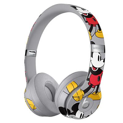 【当当自营】Beats Solo3 Wireless 头戴式 蓝牙无线耳机 手机耳机 游戏耳机 -米奇90周年纪念款 Beats头戴无线迪士尼90周年童话潮流跨界联