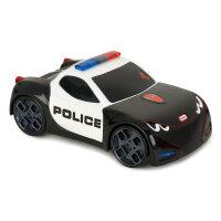 小泰克触动赛车宝宝警车汽车跑车模型儿童电动玩具赛车