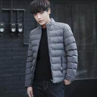 男装冬季短款立领棉衣男修身加厚保暖棉服外套男士青年冬装棉袄